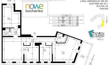 Mieszkanie 4-pokojowe Kraków Podgórze Duchackie, ul. Adama Bochenka 25C