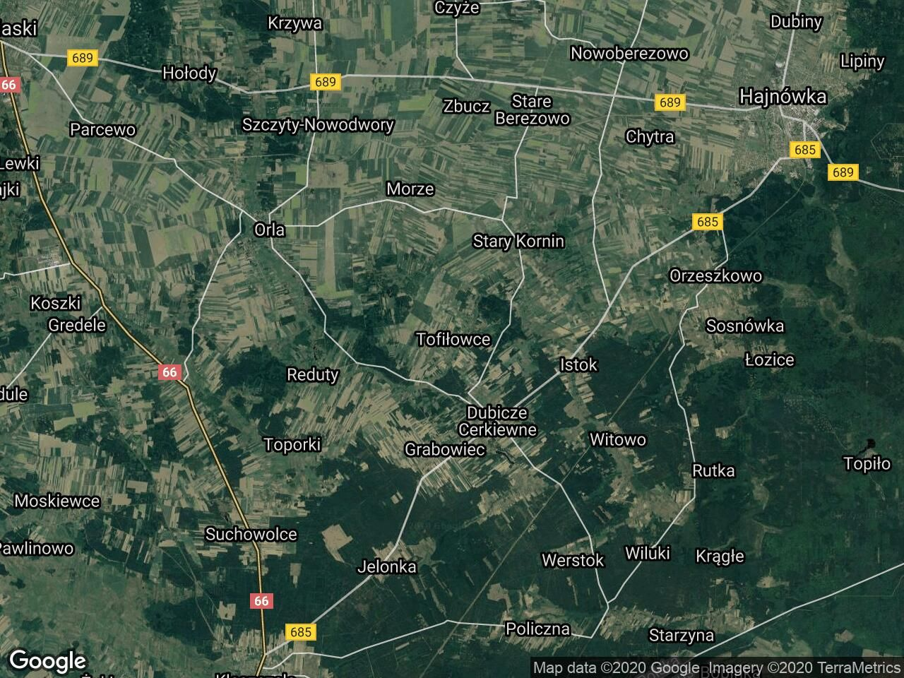 Działka rolno-budowlana Tofiłowce