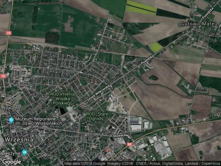 dom wolnostojący, 2 pokoje Września Sokołowo-Osiedle, szosa Witkowska 2