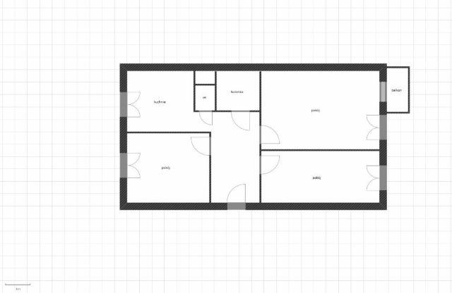 Mieszkanie 3-pokojowe Jacewo