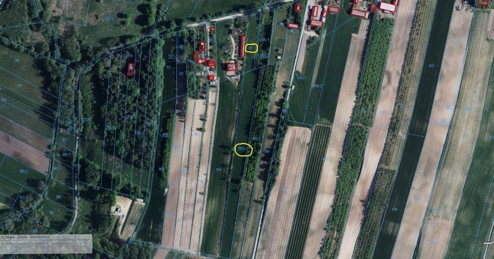 Działka rolno-budowlana Markuszów