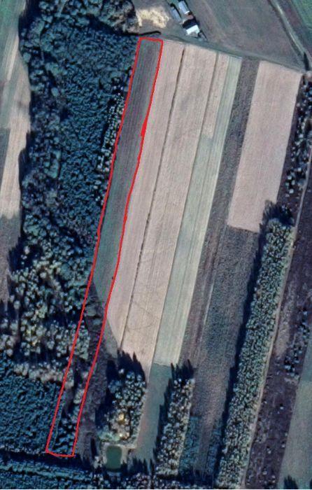 Działka rolna Łukawiec