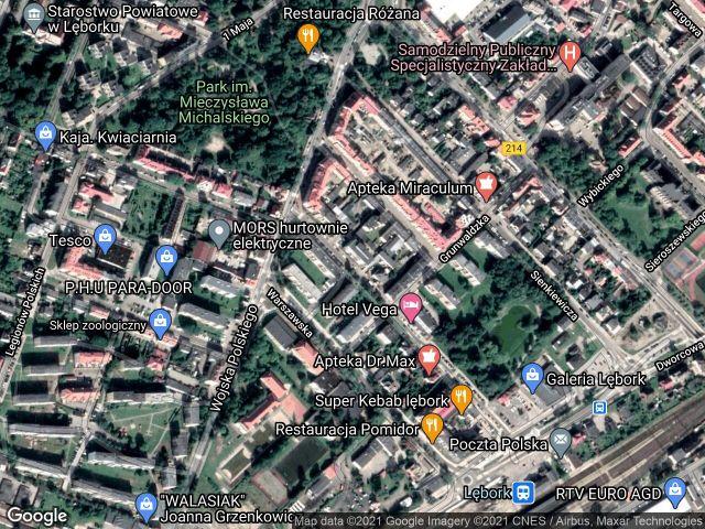 Mieszkanie 2-pokojowe Lębork Centrum, ul. Bohaterów Monte Cassino