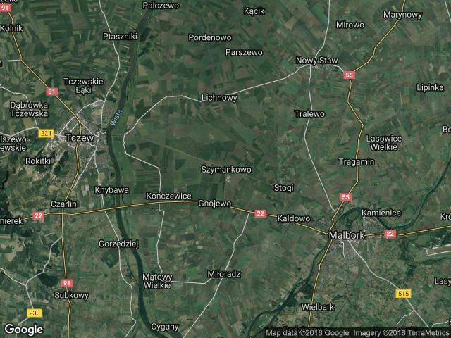 Działka rolna Szymankowo