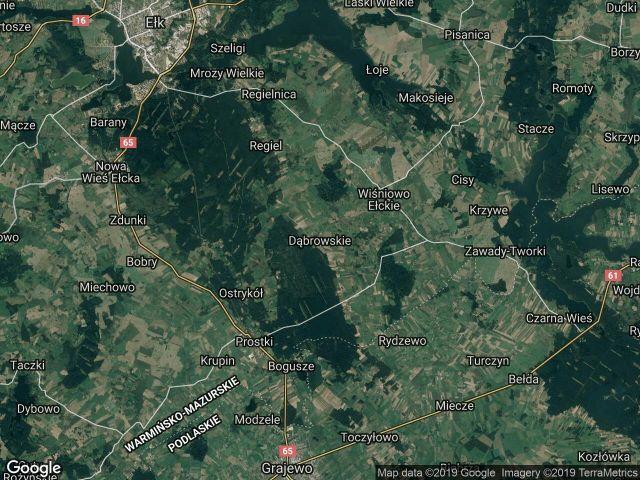 Działka rolno-budowlana Dąbrowskie