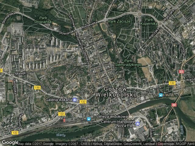 Mieszkanie 2-pokojowe Gorzów Wielkopolski Śródmieście, ul. Armii Polskiej 22