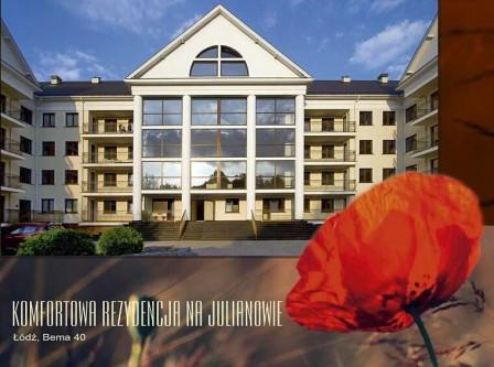 Mieszkanie 2-pokojowe Łódź Julianów, ul. gen. Józefa Bema 40