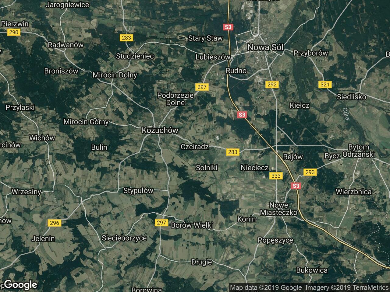 Działka leśna Czciradz
