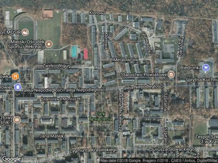 Mieszkanie 2-pokojowe Kraśnik Kraśnik Fabryczny, al. Niepodległości 28