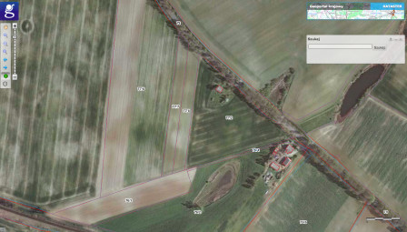 Działka rolna Wielkie Lniska
