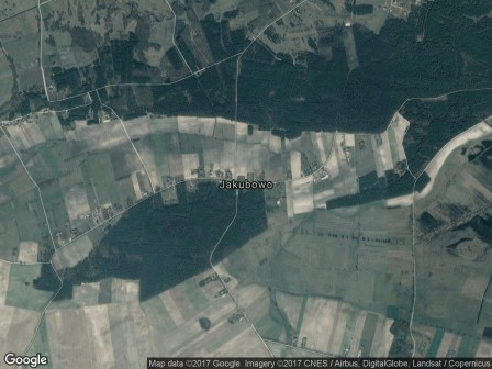 Działka siedliskowa Jakubowo