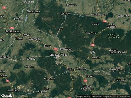 Działka leśna Jastkowice Ruda Jastkowska