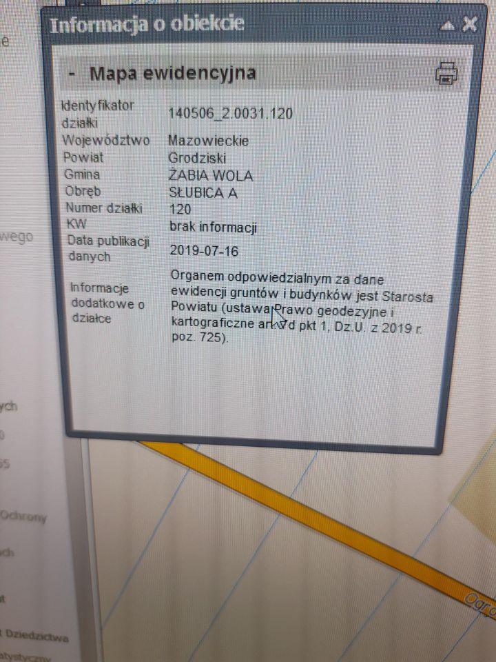 Działka inwestycyjna Słubica A, ul. Graniczna
