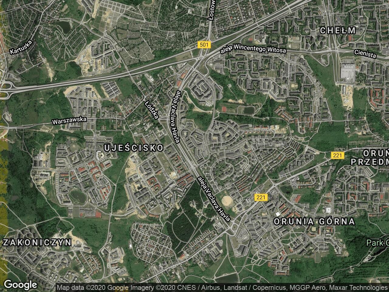 Mieszkanie 2-pokojowe Gdańsk Chełm, ul. Rogalińska