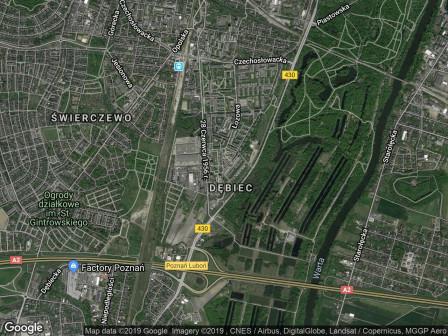 Mieszkanie 1-pokojowe Poznań Dębiec, os. Dębina 17