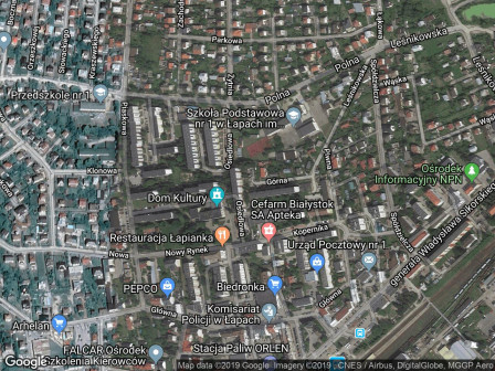 Mieszkanie 3-pokojowe Łapy, ul. Osiedlowa
