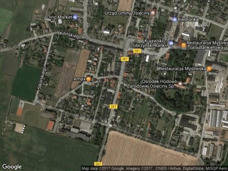 Mieszkanie 4-pokojowe Osięciny, ul. Kościuszki 28A