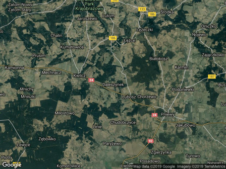 Działka budowlana Daleszynek