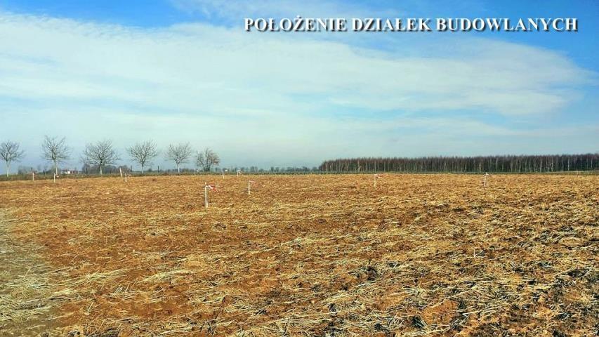 Działka budowlana Biłokury