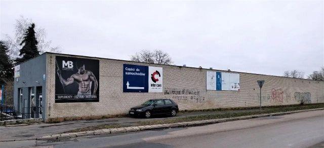 Hala/magazyn Lublin Bursaki, ul. Mariana Rapackiego