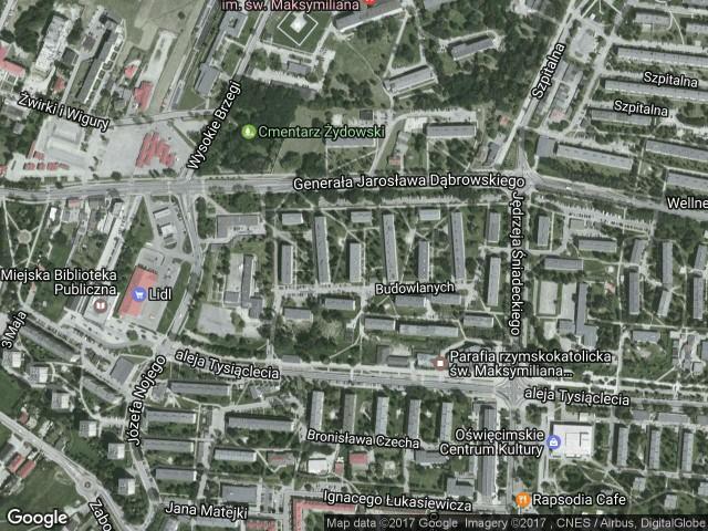Mieszkanie 2-pokojowe Oświęcim, ul. Budowlanych 40