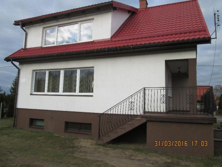 dom wolnostojący Łąski Piec