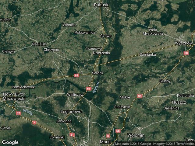 Działka budowlana Serock Moczydło