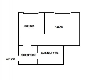 Mieszkanie 1-pokojowe Lublin Wrotków, ul. Krężnicka