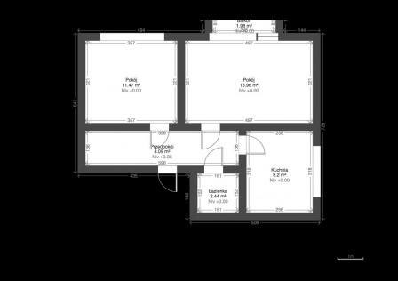 Mieszkanie 2-pokojowe Mogilno, ul. Tadeusza Kościuszki