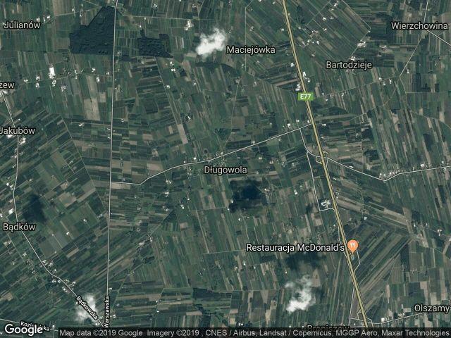 Działka rolna Długowola