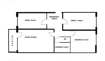 Mieszkanie 3-pokojowe Piła, ul. Królowej Jadwigi 17