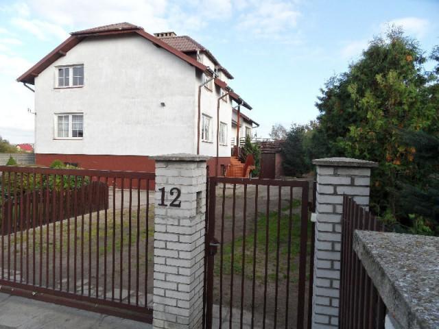 dom wolnostojący, 4 pokoje Sierpc, ul. Zachodnia 12
