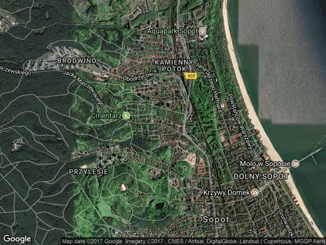 Mieszkanie 2-pokojowe Sopot Sopot Górny, ul. Jacka Malczewskiego 19