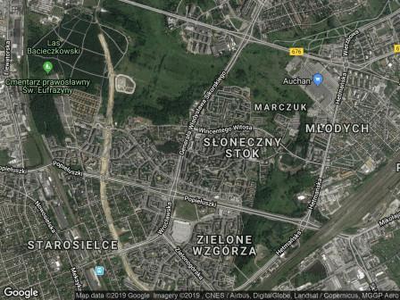 Mieszkanie 2-pokojowe Białystok Słoneczny Stok, ul. Stroma 34