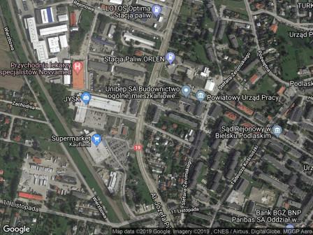 Mieszkanie 1-pokojowe Bielsk Podlaski, al. Józefa Piłsudskiego 26