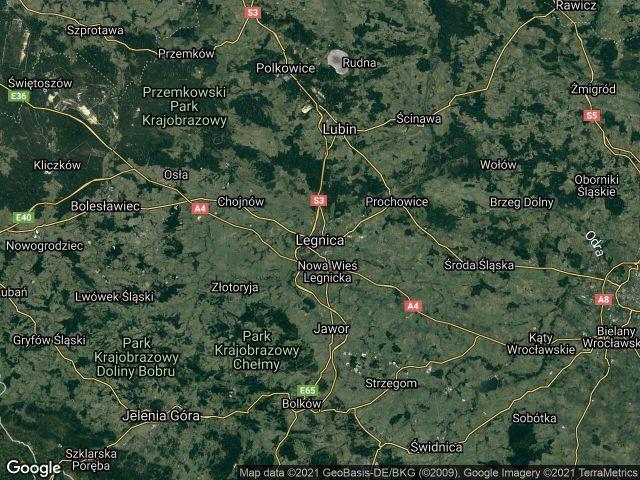 Działka siedliskowa Legnica