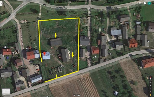Działka budowlana Staniowice, Staniowice 65