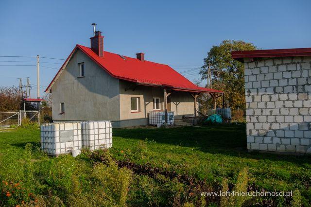 dom wolnostojący, 3 pokoje Grabiny, Grabiny