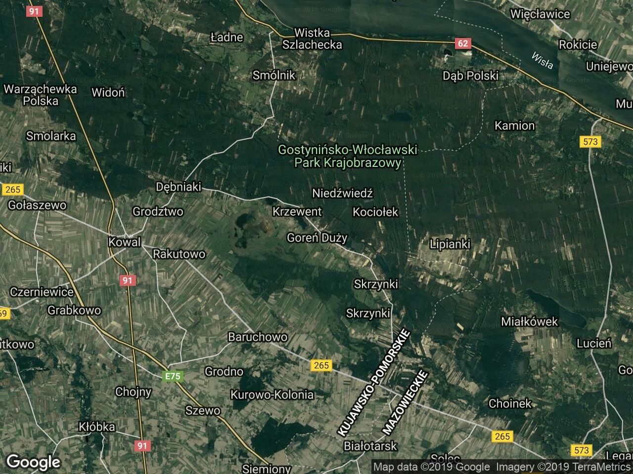Działka budowlana Goreń Duży, ul. Porzeczkowa