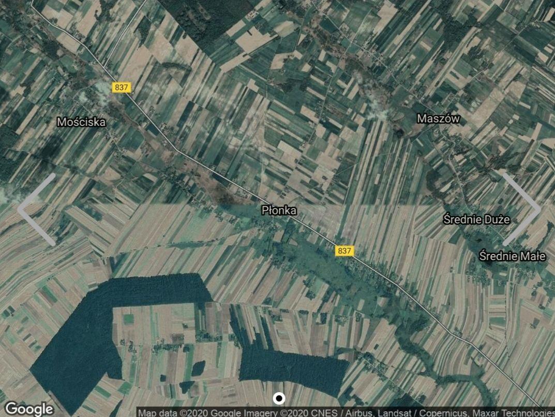 Działka rolna Płonka