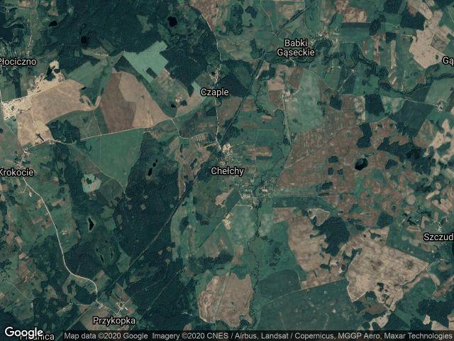 Działka rolna Chełchy
