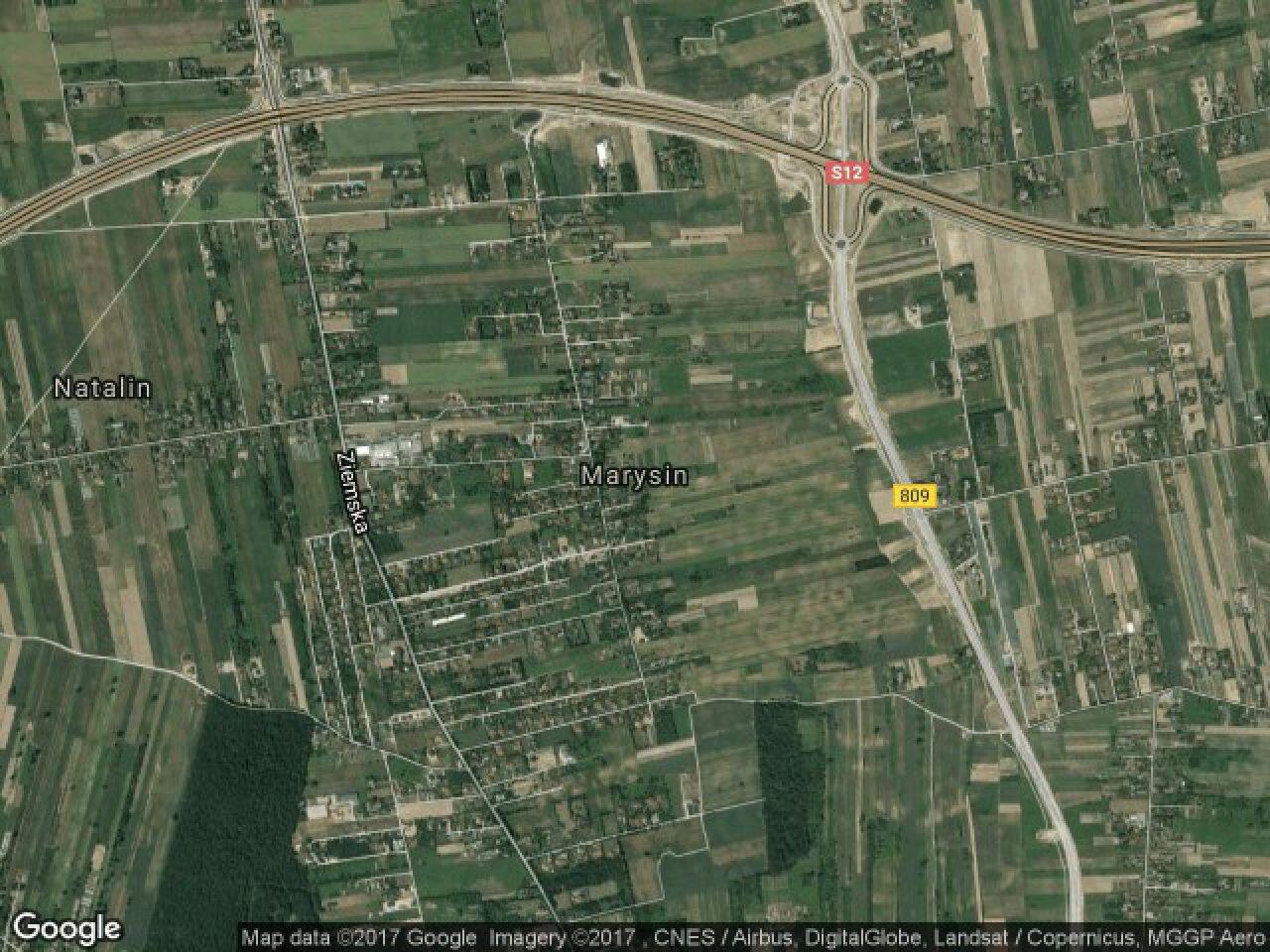 Działka budowlana Marysin, ul. Pąsowa