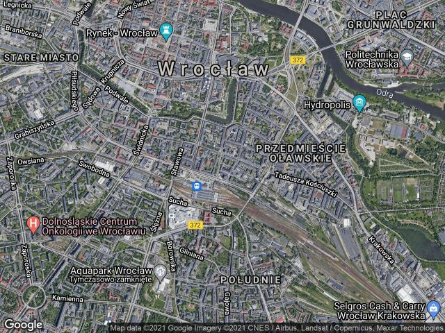 Mieszkanie 1-pokojowe Wrocław Stare Miasto, ul. Dworcowa