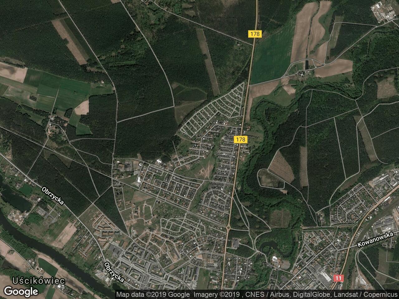 Działka budowlana Oborniki, ul. Wojciecha Korfantego