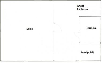 Mieszkanie 1-pokojowe Lublin Dziesiąta, ul. Pawia