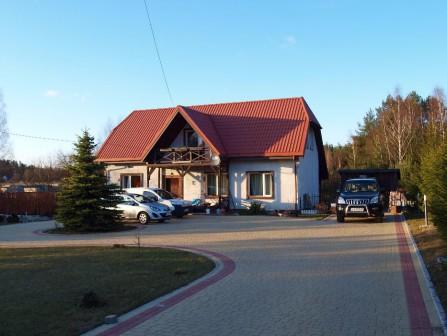 dom wolnostojący Żuki