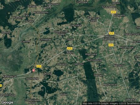 Działka rolna Bagny