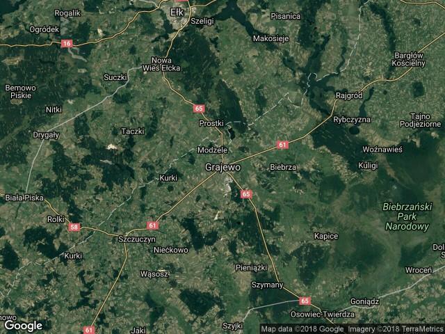 Działka rolno-budowlana Grajewo, ul. Topolowa