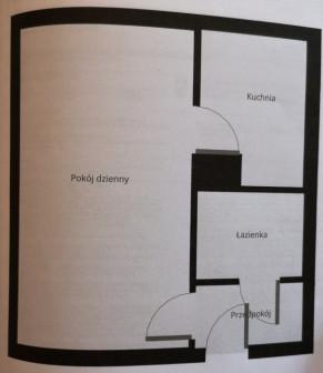 Mieszkanie 1-pokojowe Chocianów, ul. Wesoła 9