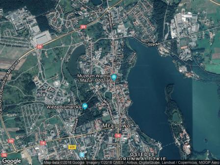 Mieszkanie 4-pokojowe Mrągowo Centrum, ul. Tadeusza Kościuszki